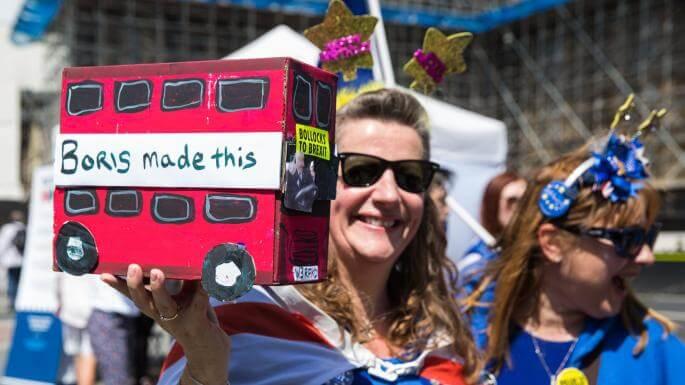 boris johnson busz modell